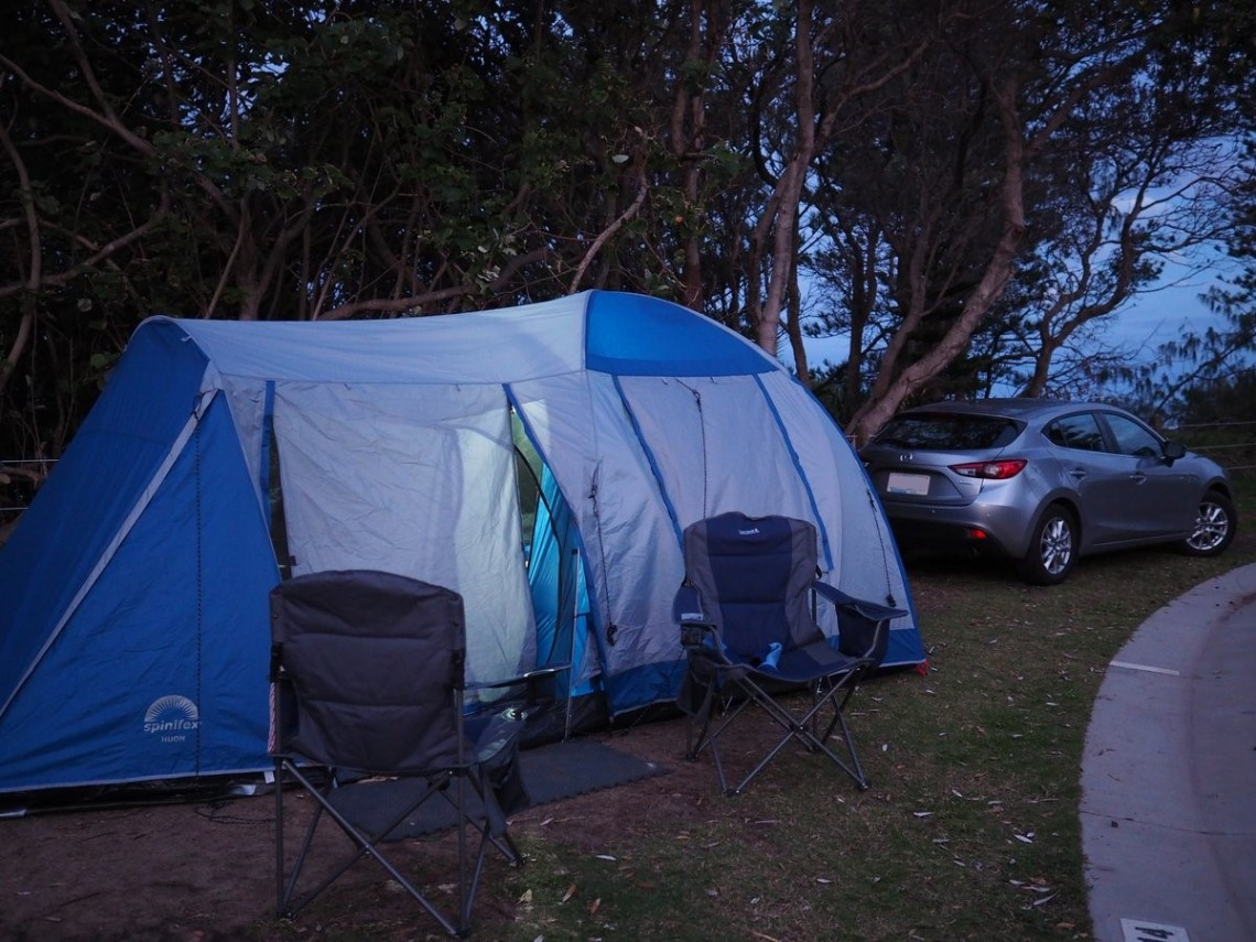 Spinifex Huon Tent at Coolum Beach