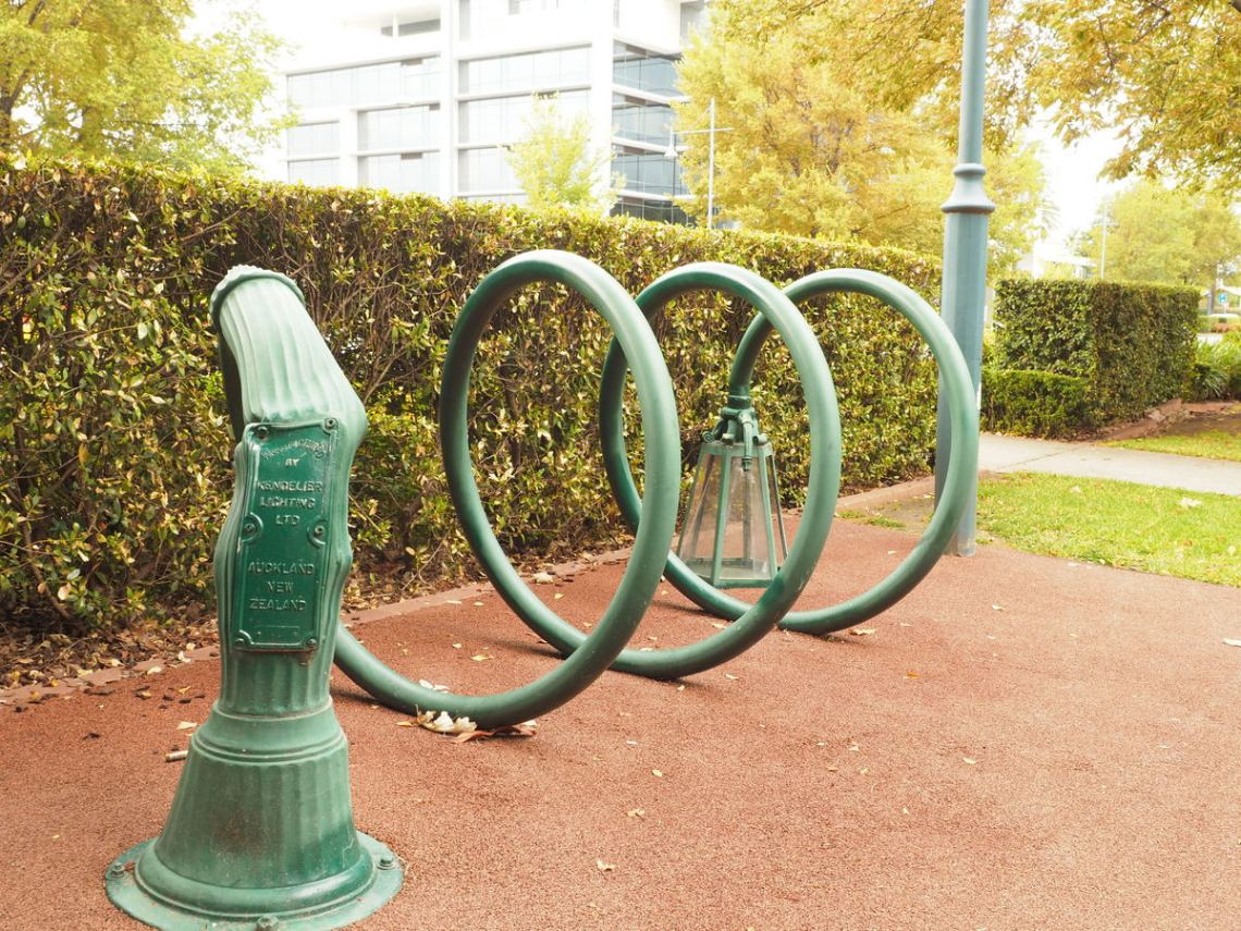 Albury Intriquing Bike Rack
