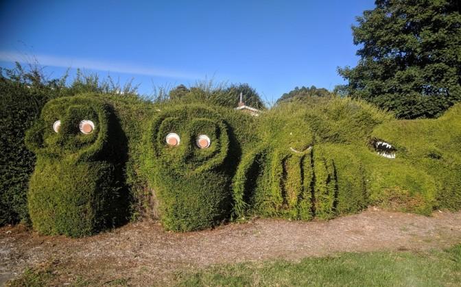 The Monster Hedge or Railton
