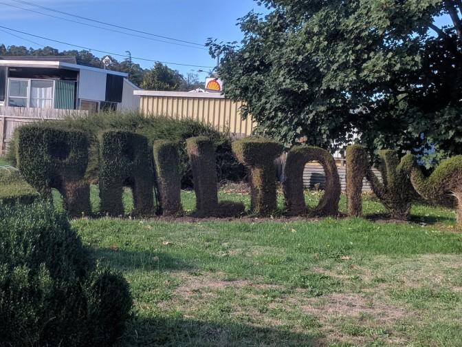 Railton, Town of Topiary
