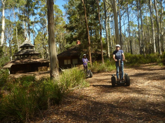 Segway Tour of Hollybank Forest