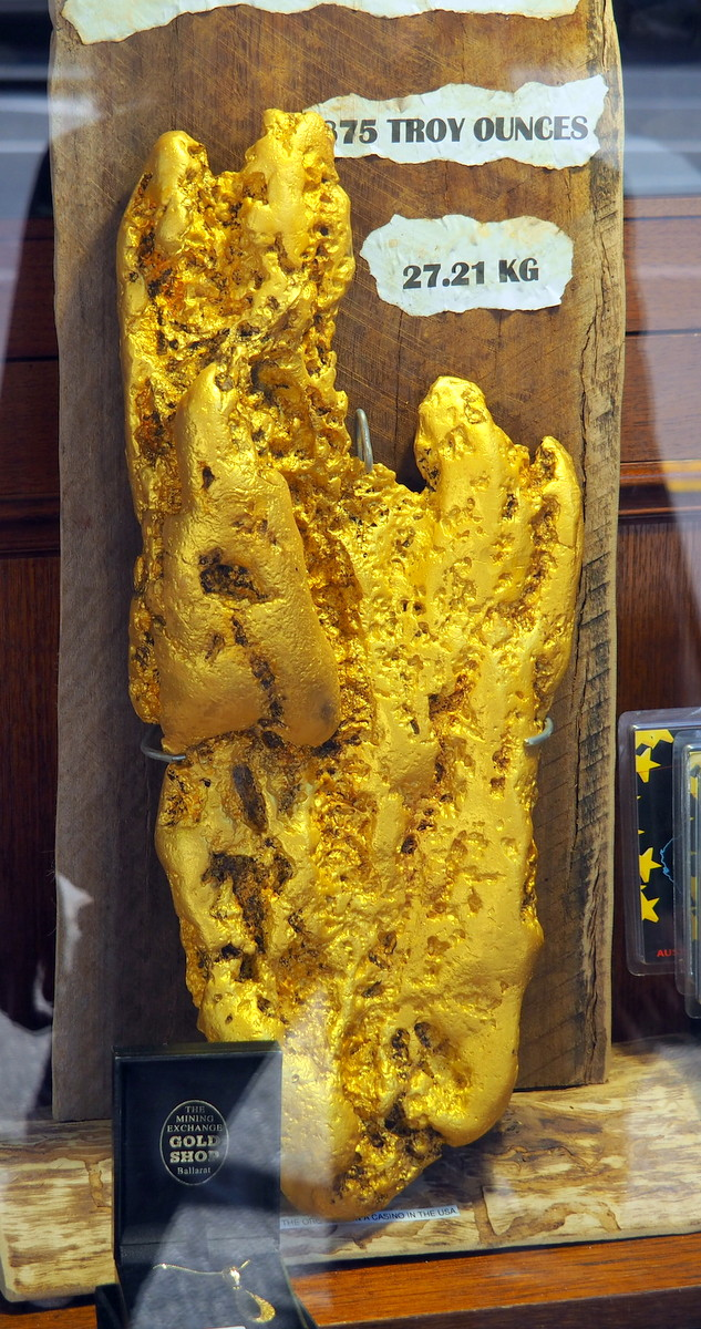 Ballarat Gold Nugget
