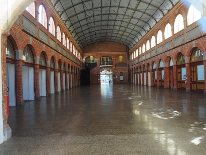 The old exchange hall