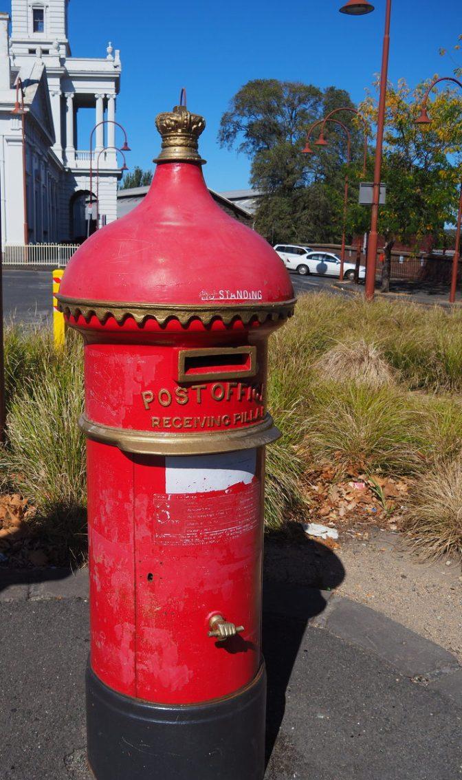 Ballarat Post Box