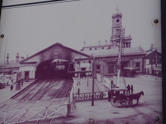 Ballarat Train Station without clock