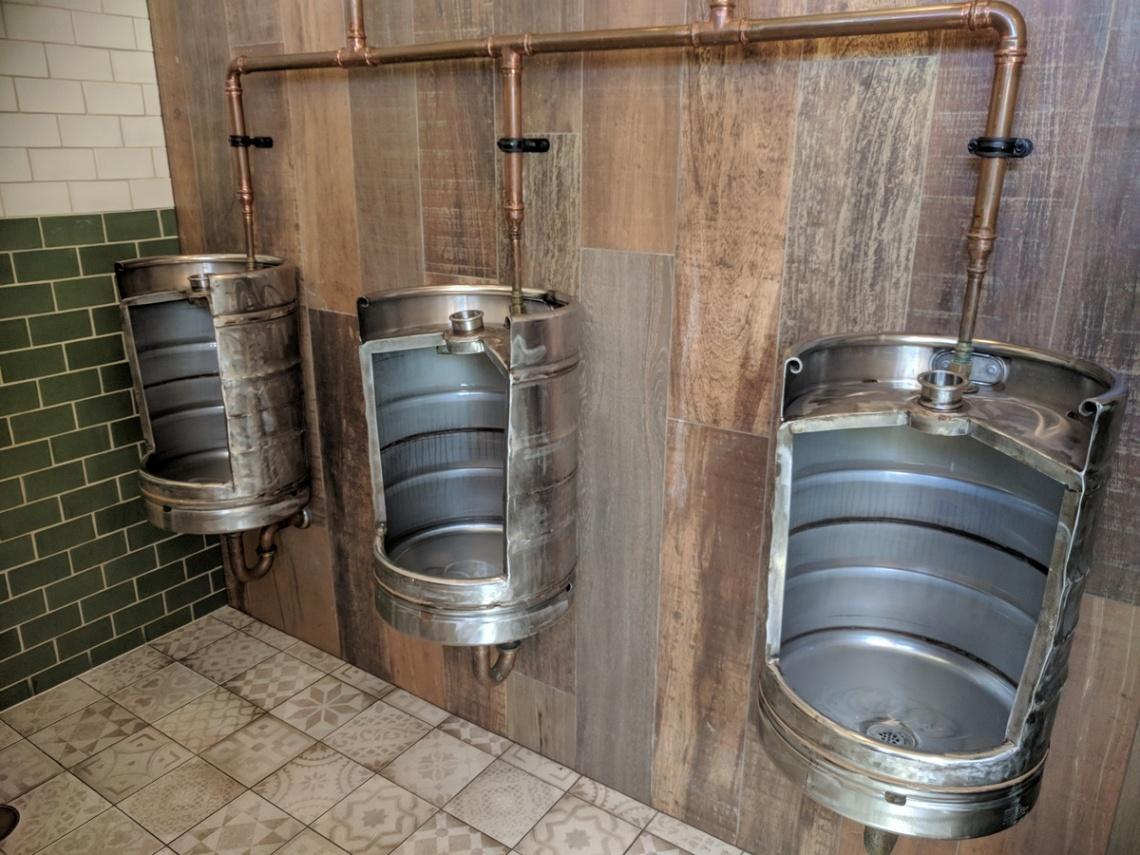 Beer Kegs in the Uraidla Hotel