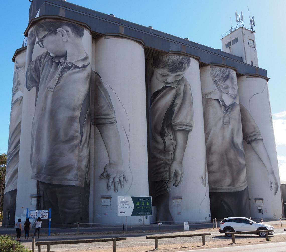 Coonalpyn Murals