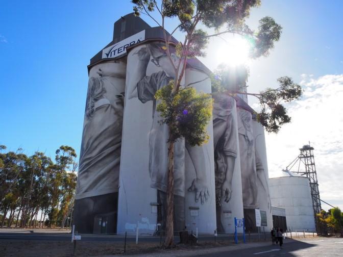 Coonalpyn Grain Silo Murals