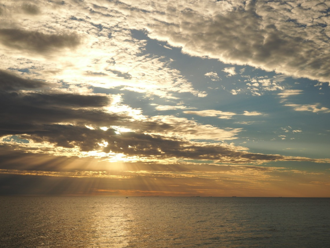 Grange sunset