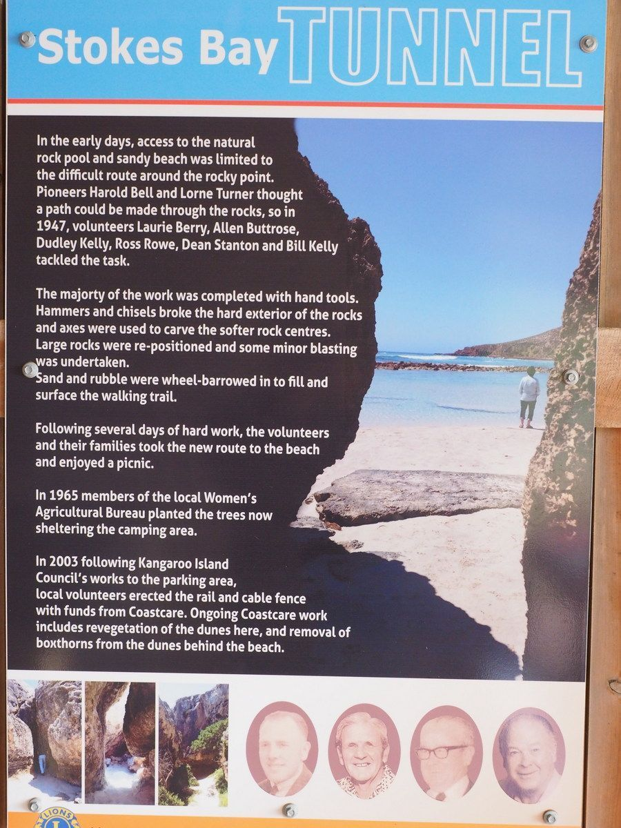 The story of Stokes Bay