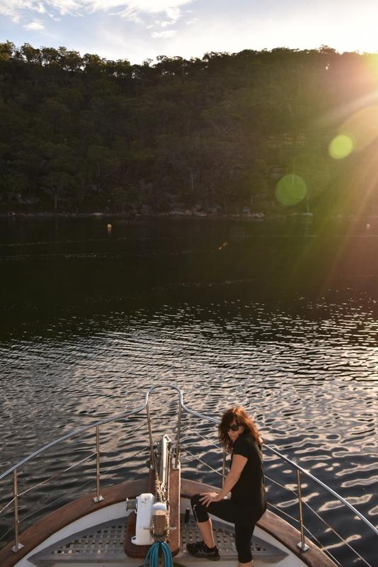Mooring the boat