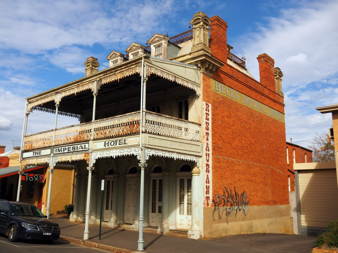 Beck's Imperial Hotel Built 1861