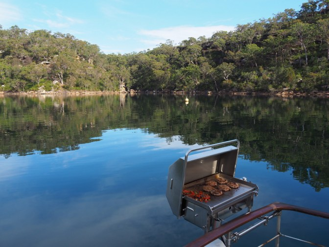 Bar-B-Que on the river