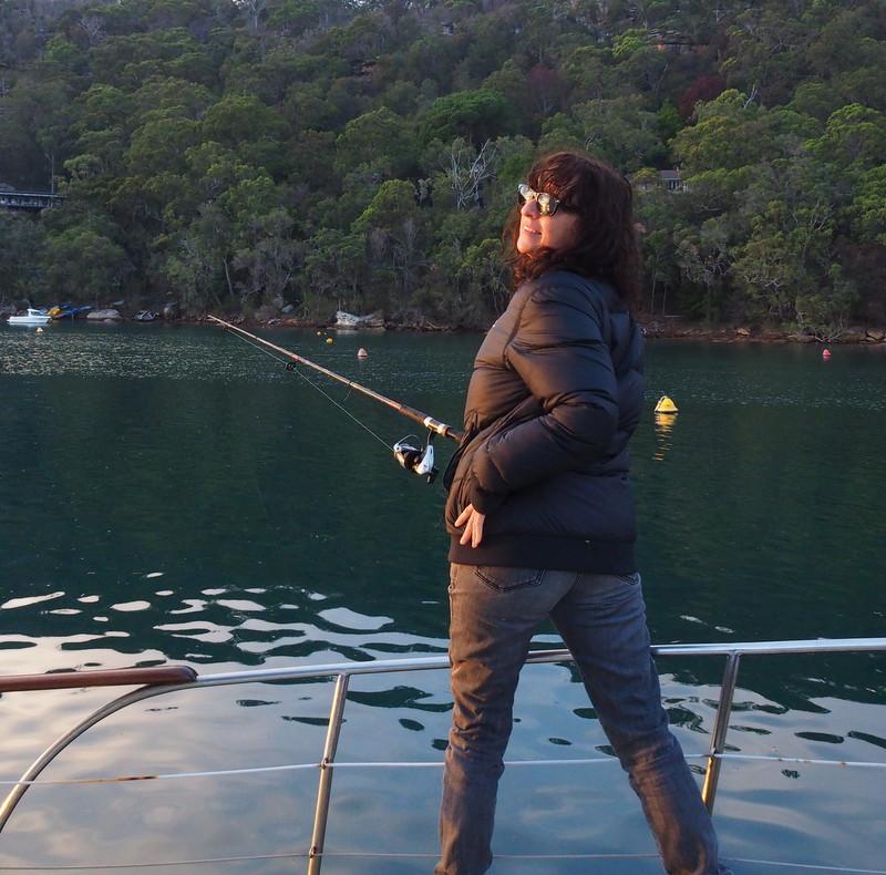 Fishing in American Bay