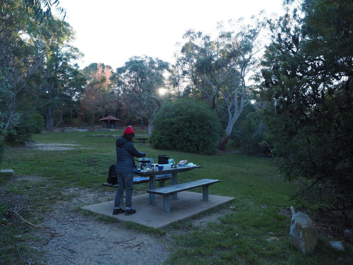 Wentworth Falls Picnic Area for breakfast