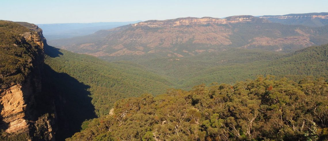 View from Echo Point, Katoomba