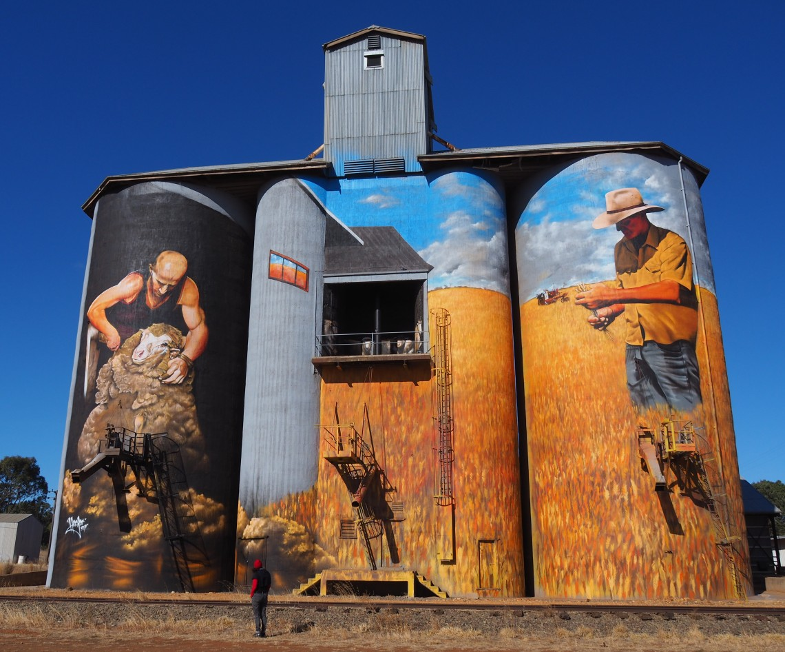 Weethalle Grain Silo