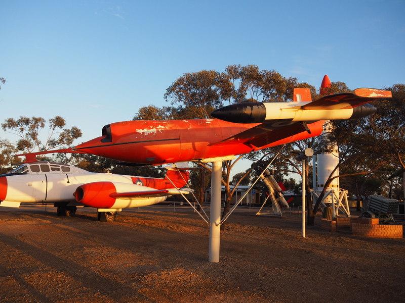 Target Plane exhibit in Woomera