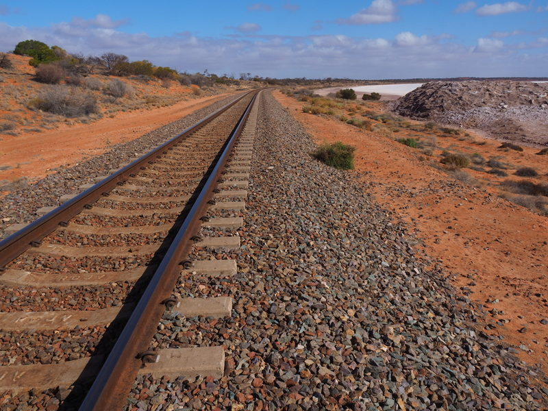 The Ghan Railway Line