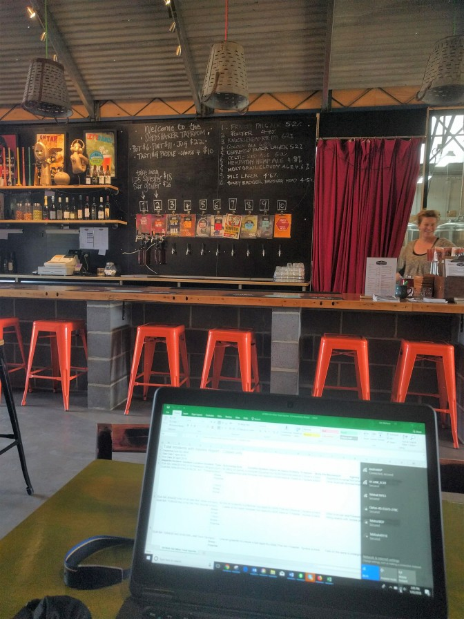 Tap Room Shedshaker Brewery Castlemaine