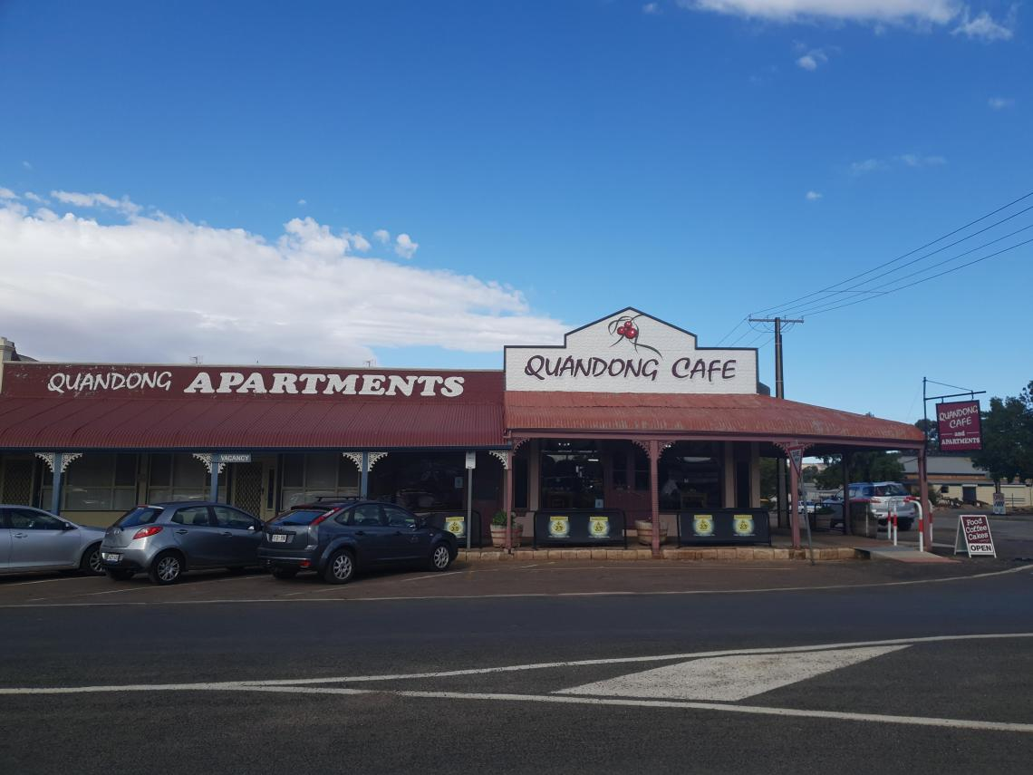 Quandong Cafe in Quorn