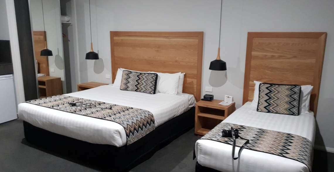 Euston Motel - isn't it lovely?