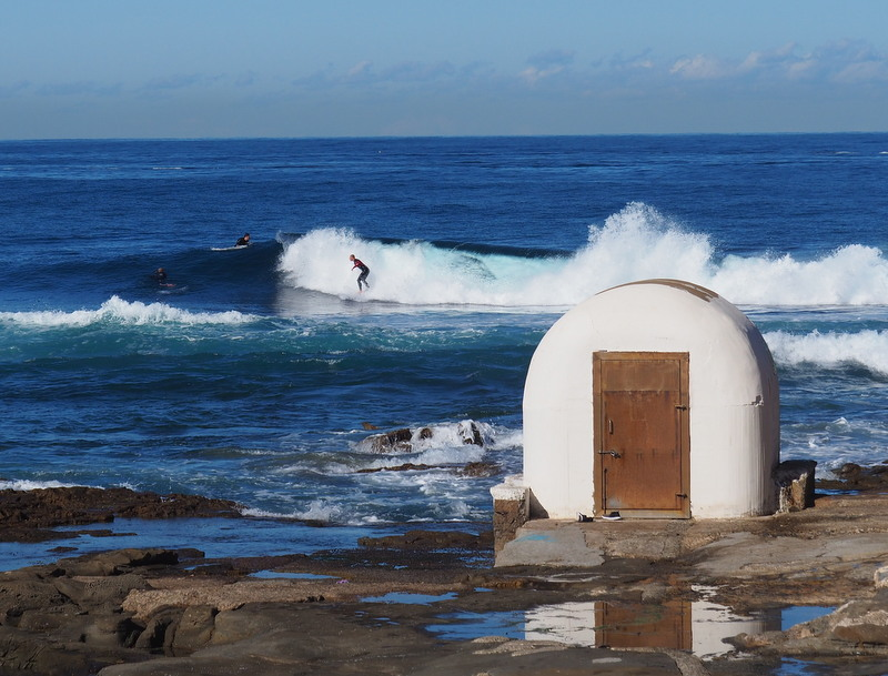 Surfing in Newcastle