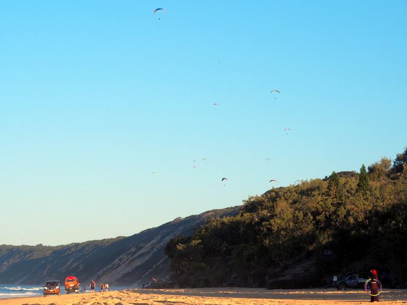 Rainbow Beach, Faraway in Time, To the tune of Echo Beach