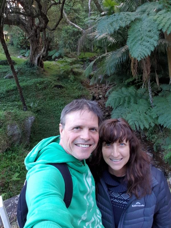 Jim and Jenni at Platypus Creek