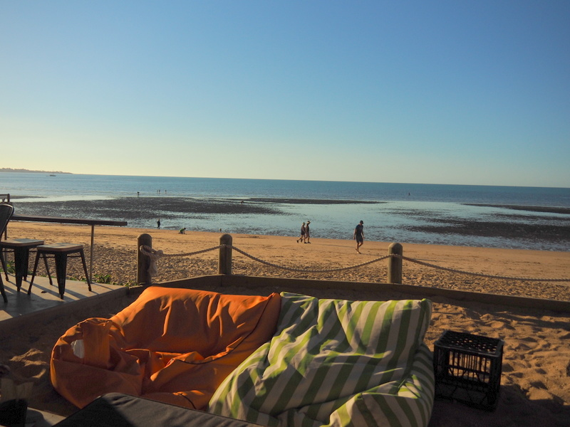 View from the Beach Cafe - Hervey Bay