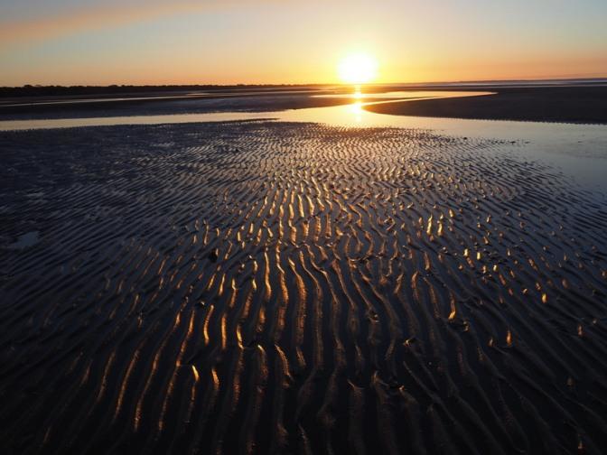 Sunset on Toogoom Beach