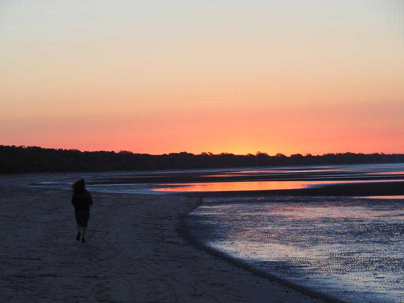 Running home before dark