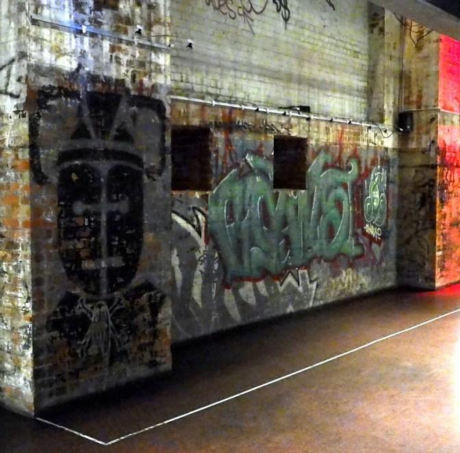 Graffiti in the Powerhouse