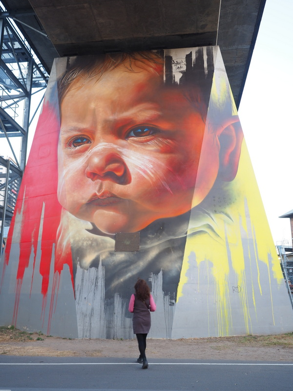 Pillars Project Art by Adnate