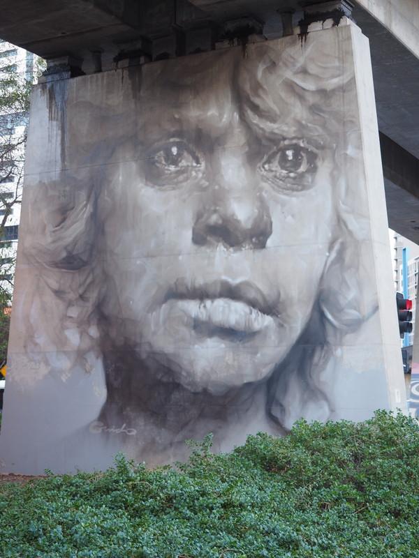 The Pillars Project by Guido Van Helten