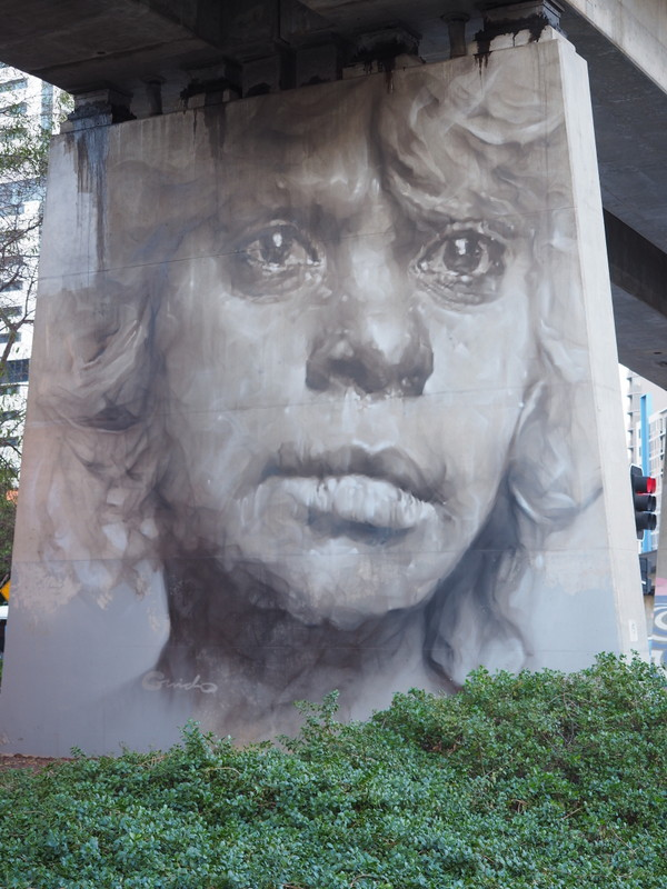 The Pillars Project by Guido Van Helten