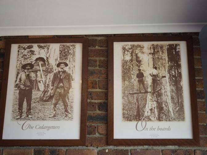 Pictures in the Tumbulgum Tavern