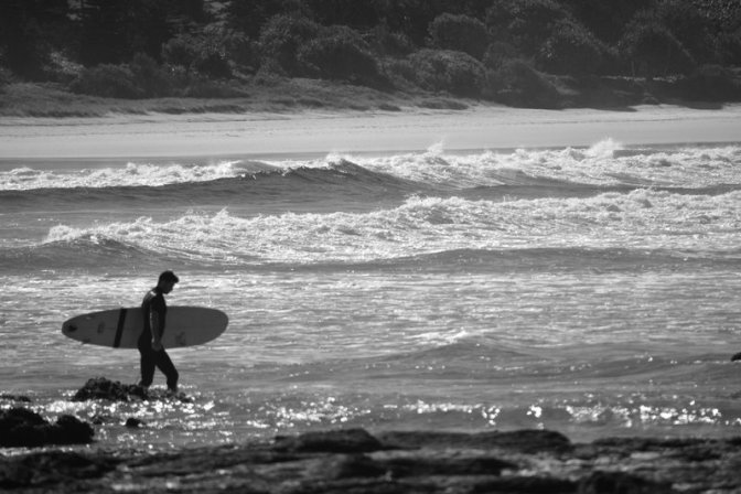 Searching for surf