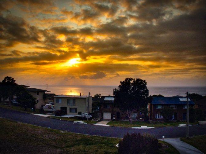 Sunrise in Kianga
