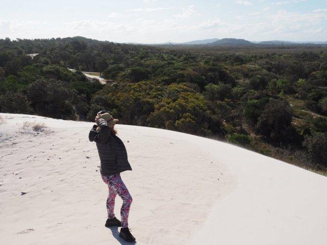 Broadwater Beach Sand Dunes