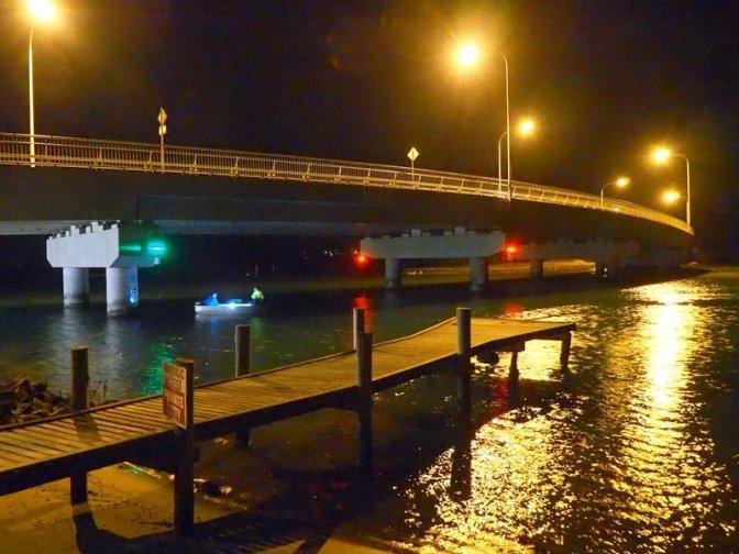 Night Fishing under the bridge