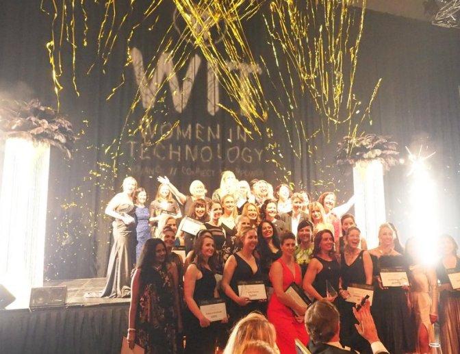 Women in Technology Final Award Picture