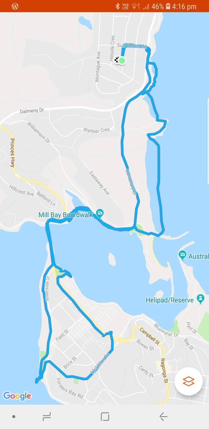 10km Scenic Walk