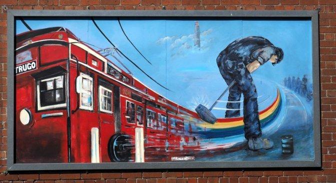 Trugo mural Yarraville
