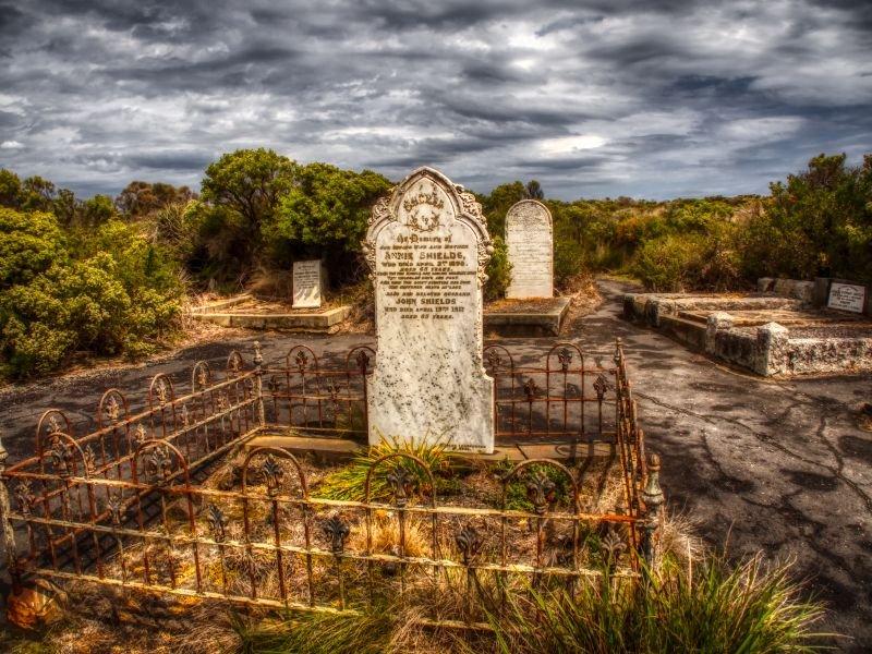 Loch Ard Cemetery