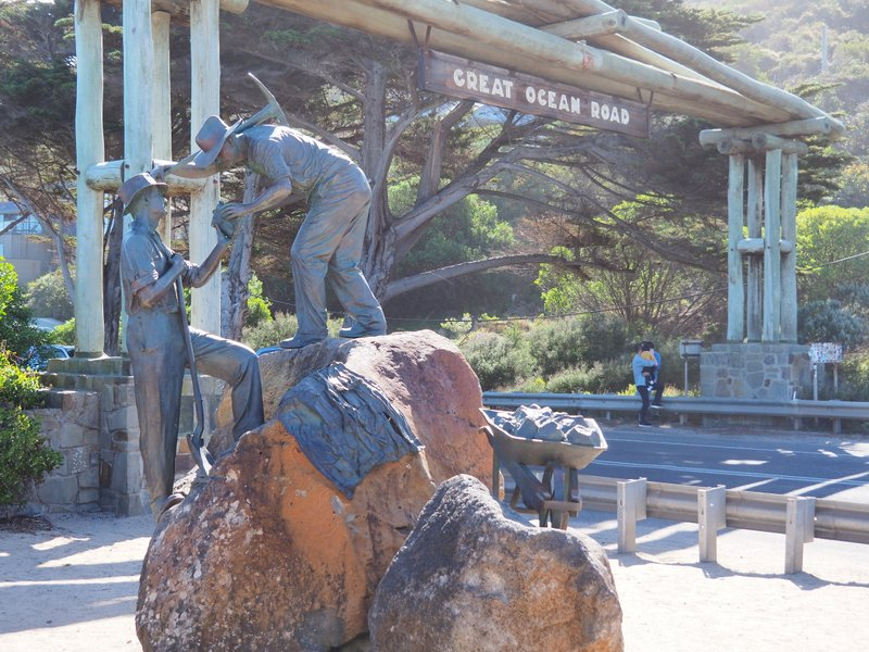 Memorial Arch Sculpture