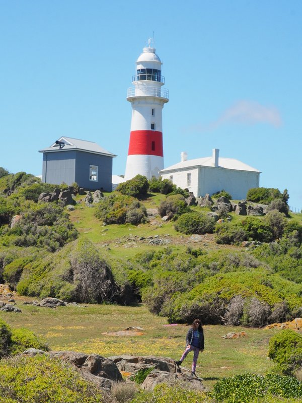Jenni and the Low Head Lighthouse and Fog Horn
