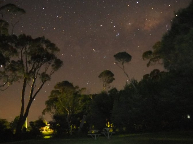 Camp Site Sky