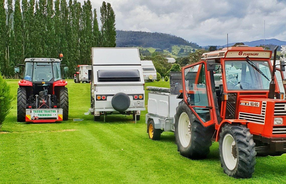 Tassie Tractor Trekkers