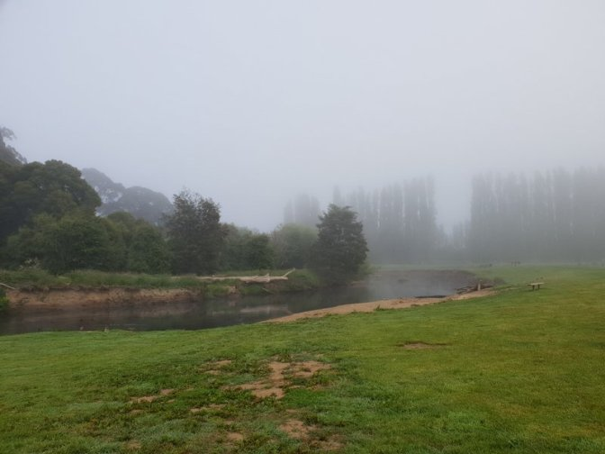 Misty Mornings over the Huon River